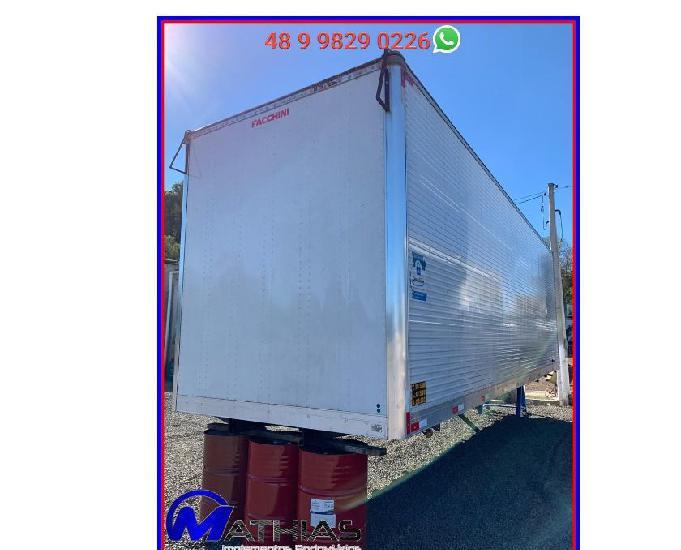 Ref 0725 furgão carga seca seminovo 8,50m facchini