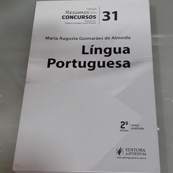 Resumos para concursos- língua portuguesa