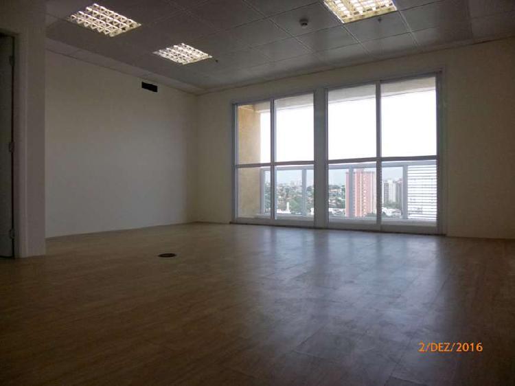 Sala comercial com 1 quarto para alugar, 35 m² por r$