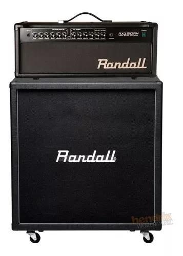Set ampli cabeçote + caixa guitarra randall rx-120 120