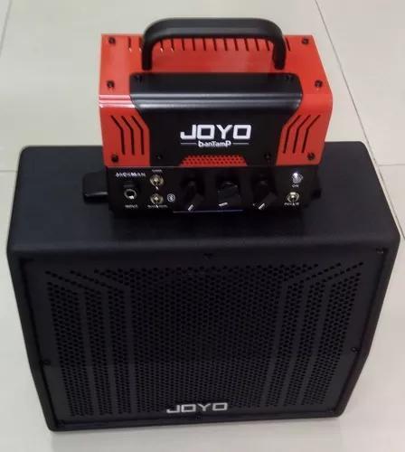 Set amplificador cabeçote mini guitarra joyo jackman +