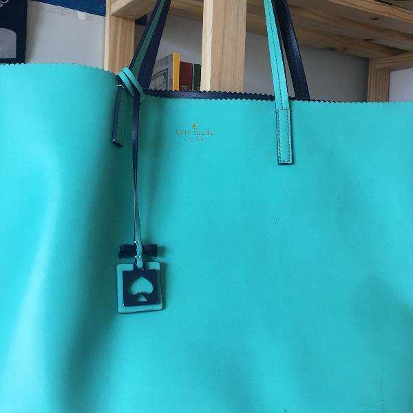 Bolsa kate spade azul tiffany