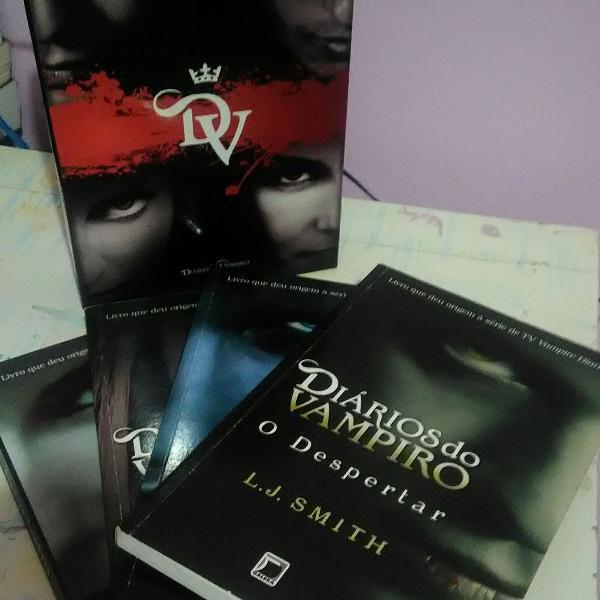 Box diarios do vampiro