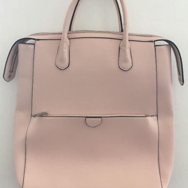 Chic pink bolsa rosa