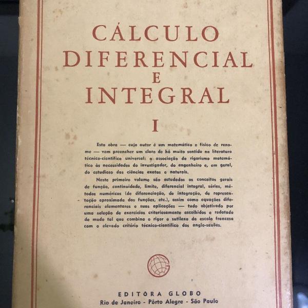 Cálculo diferencial e integral volume 1