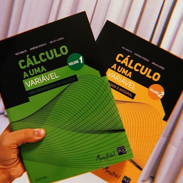 Combo cálculo a uma variável - volume 1 e 2