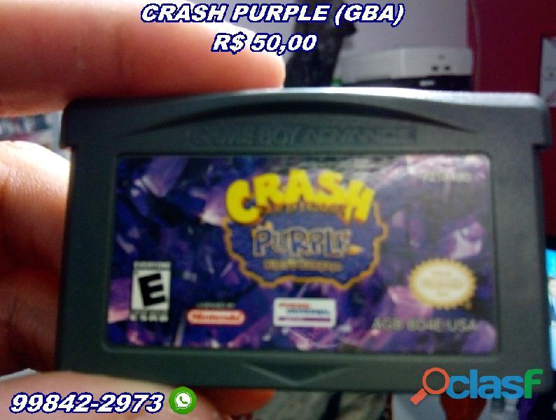 Crash purple gba original