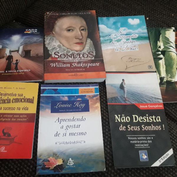 Kit Livros Motivacionais E Religiosos