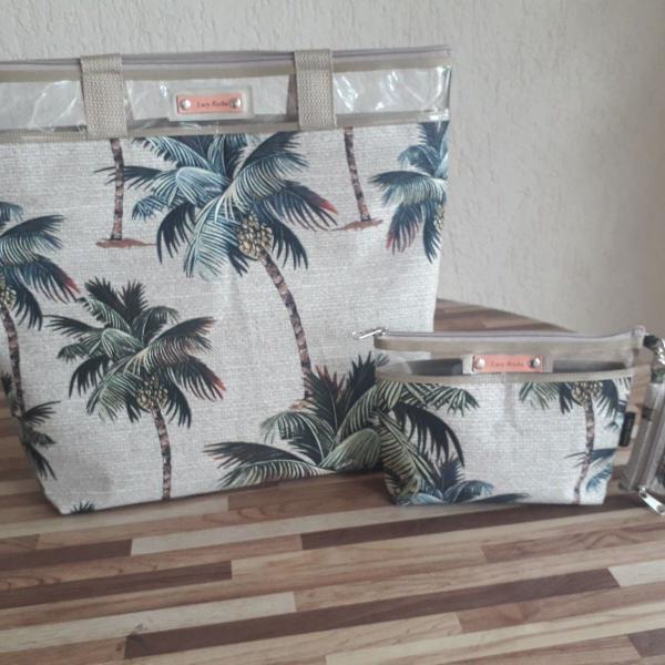 Kit verão bolsa praia e campo lucy rocha - coquerio