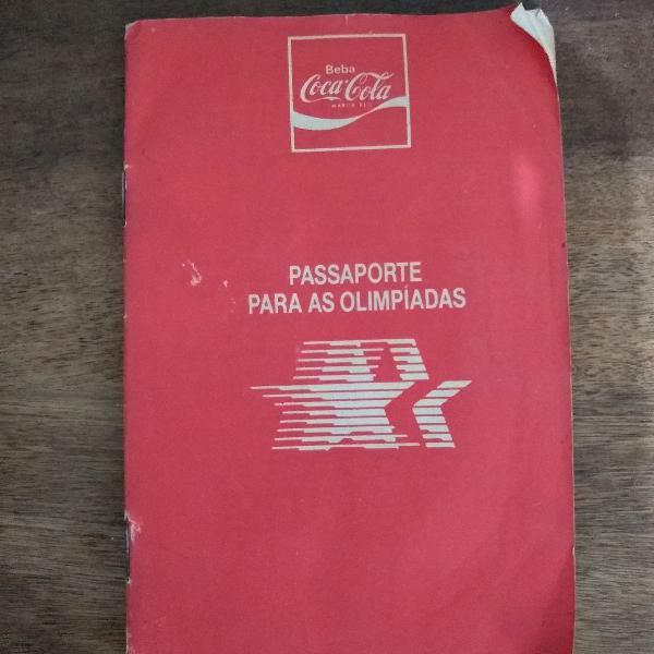 lbum Pateta Passaporte Olimpíadas