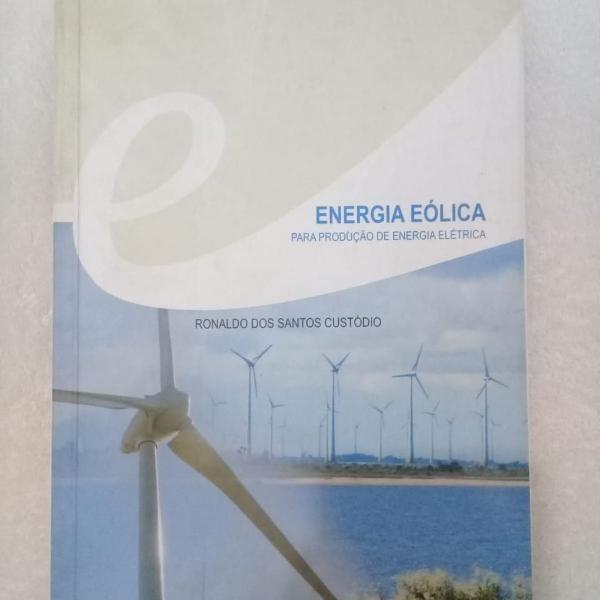 Livro energia eólica - para produção de energia elétrica