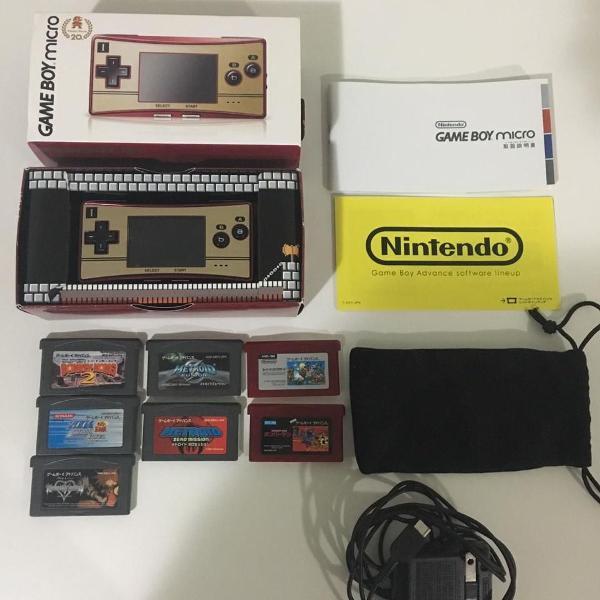Nitendo game boy micro 20th anniversary edition