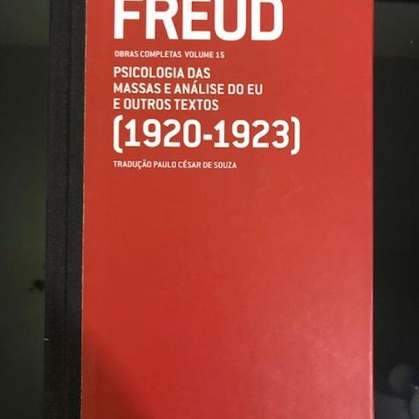 Sigmund freud - obras completas - vol. 15 - psicologia das