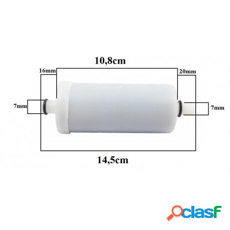 Vela ou refil para torneira filtro tipo pró saúde duas saídas curta