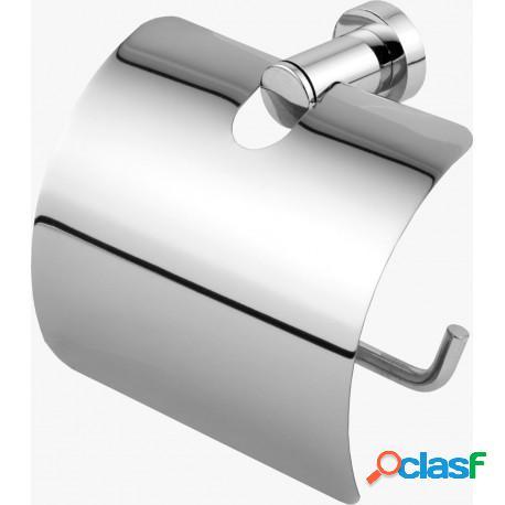 Papeleira ou porta papel higiênico classic metal cromado