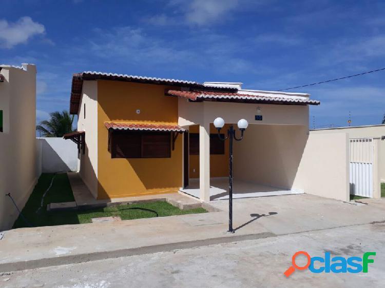 Residencial blue mar - casa em condomínio a venda no bairro caminho do mar - extremoz, rn - ref.: as63623