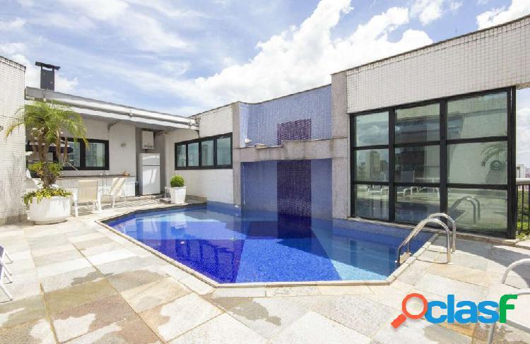 Cobertura duplex anália franco 463 m², 04 suítes, 07 vagas - cobertura duplex a venda no bairro jardim anália franco - são paulo, sp - ref.: sc00618
