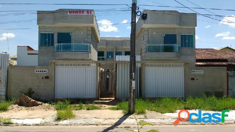 Ótima casa duplex nova c/ 2 suítes - casa duplex a venda no bairro extenção serramar - rio das ostras, rj - ref.: in95740