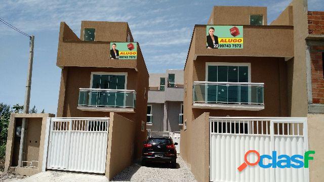 Triplex 3 qt (2 suites) excelente local - casa triplex a venda no bairro jardim miramar - rio das ostras, rj - ref.: in13563