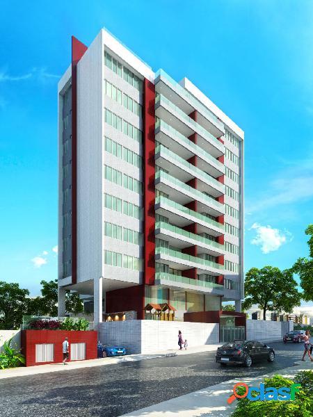 04 quartos, financ banco + entrada ÷ 48 meses, farol - apartamento alto padrão a venda no bairro farol - maceió, al - ref.: pi67813