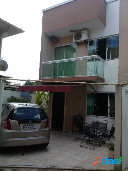 Bela casa mobiliada 2 suítes - ouro verde - casa duplex a venda no bairro ouro verde - rio das ostras, rj - ref.: ro30155