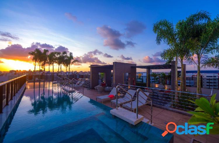 Studio ÷ 48 meses, a 250m da praia, ponta verde - apartamento a venda no bairro ponta verde - maceió, al - ref.: pi25536