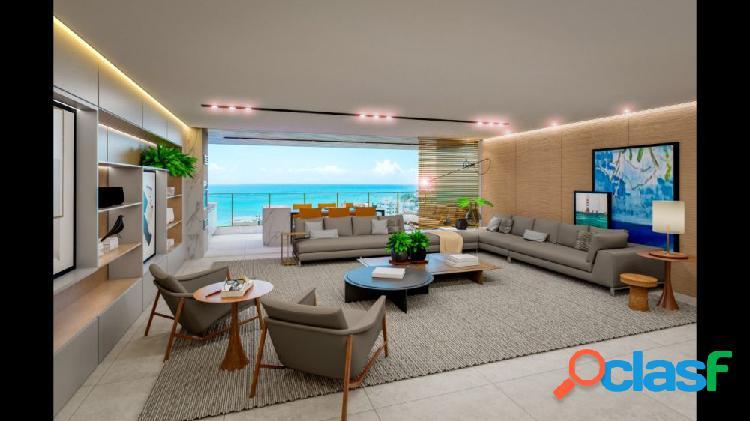 04 suítes + dce, 192.84m², ÷ em 100 meses, abdon arroxelas - apartamento alto padrão a venda no bairro ponta verde - maceió, al - ref.: pi63418