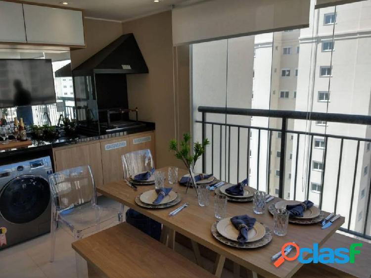 Apartamento shopping maia 56m, 01 vaga, terraço gourmet - apartamento a venda no bairro jardim flor da montanha - guarulhos, sp - ref.: sc00606
