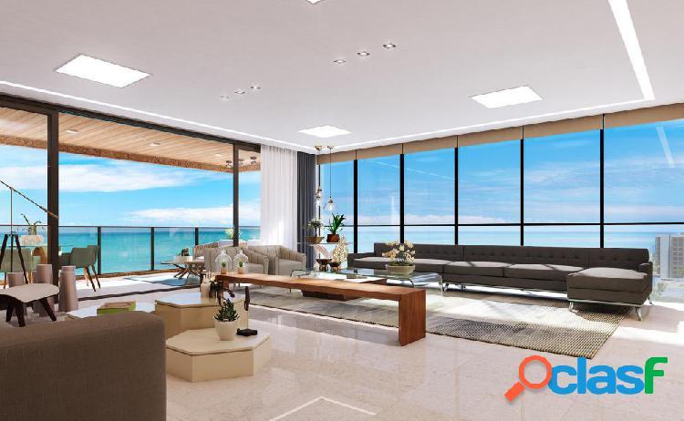 04 suítes, 286m², ÷ em 100 meses, beira mar de jatiúca - apartamento alto padrão a venda no bairro jatiúca - maceió, al - ref.: pi80761