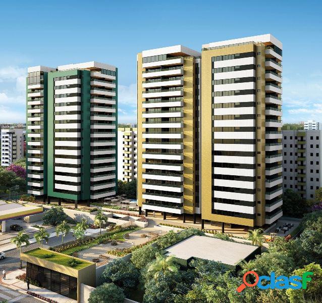 Cobertura duplex e garden, 04 suítes, 265,32m², ÷ 100 meses - cobertura a venda no bairro jatiúca - maceió, al - ref.: pi12767