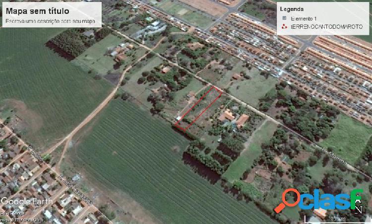 Terreno chacaras moema - terreno a venda no bairro chacaras moema - araçatuba, sp - ref.: mm20023