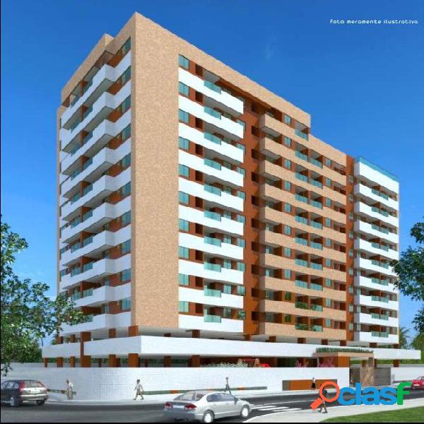 02 quartos ÷ em 120 meses, 5ª quadra da praia de pajuçara - apartamento a venda no bairro poço - maceió, al - ref.: pi85062