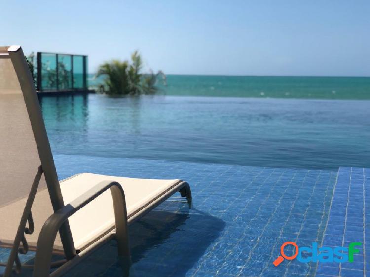 04 quartos+dce ÷ 60 meses, na beira mar de guaxuma - apartamento alto padrão a venda no bairro guaxuma - maceió, al - ref.: pi26171