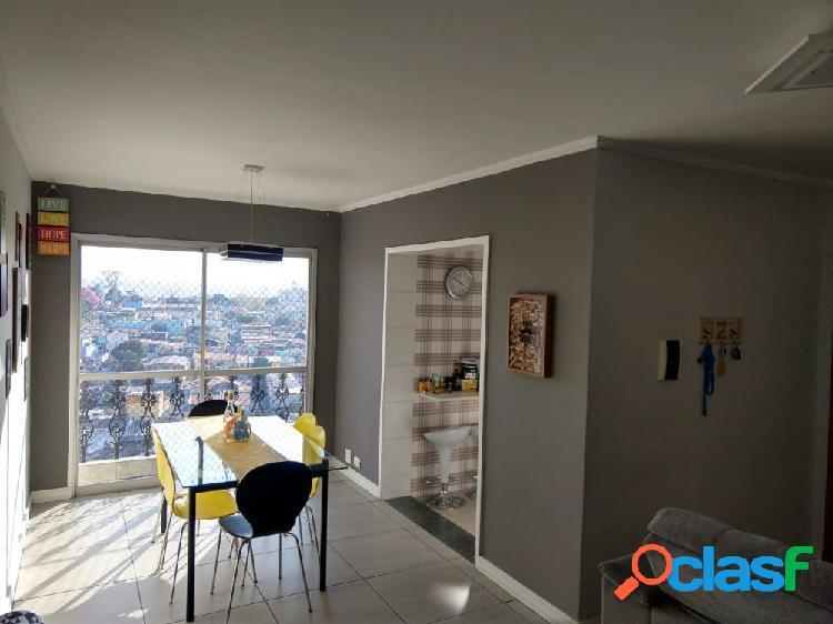 Apto 63m² cond. edifício joão paulo ii - vila augusta - apartamento a venda no bairro vila leonor - guarulhos, sp - ref.: sc00053