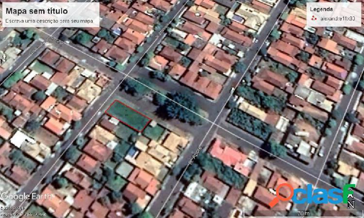 Terreno de esquina no bairro iporã - terreno a venda no bairro iporã - araçatuba, sp - ref.: mm01414