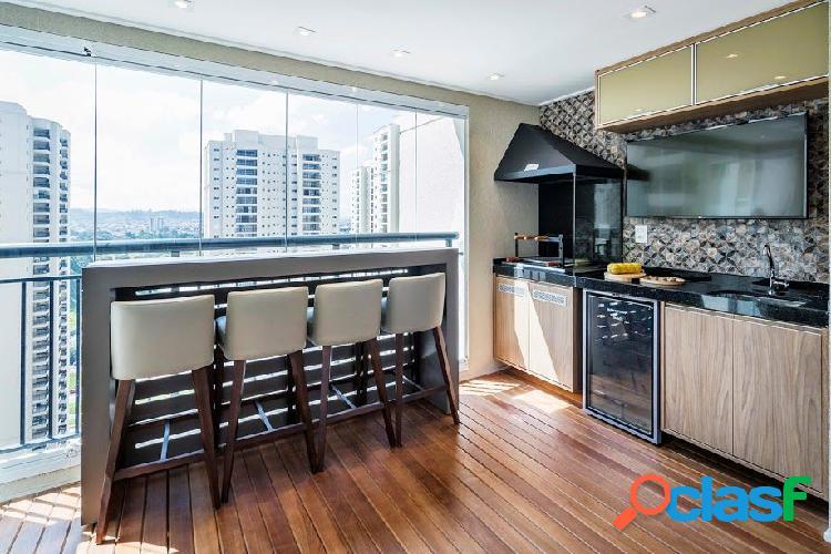 Apartamento shopping maia 86m, 02 vagas, terraço gourmet - apartamento a venda no bairro jardim flor da montanha - guarulhos, sp - ref.: sc00604