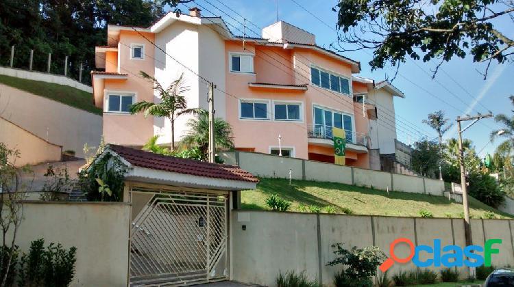 Mansão 570 m² - cond. fechado arujazinho - mansão a venda no bairro arujázinho i, ii e iii - arujá, sp - ref.: sc00423