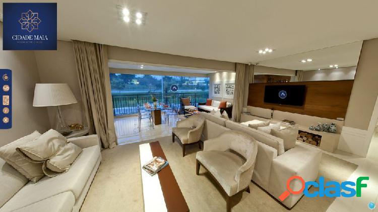 Apartamento shopping maia com 154m², 04 suítes, 03 vagas - apartamento a venda no bairro jardim flor da montanha - guarulhos, sp - ref.: sc00601