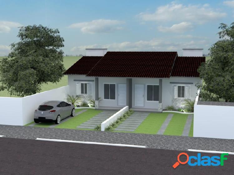 Casa geminada 02 dormitórios - casa a venda no bairro universitário - lajeado, rs - ref.: 580
