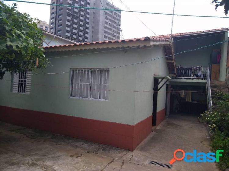 Casa antiga 130m² c/ edicula - região central de guarulhos - casa a venda no bairro vila moreira - guarulhos, sp - ref.: sc00672