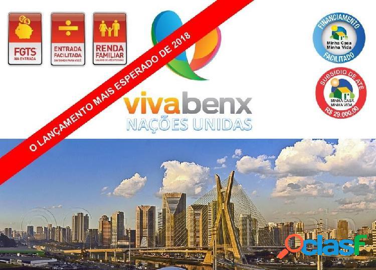 Vivabenx nações unidas - apartamento a venda no bairro jurubatuba - são paulo, sp - ref.: vivabenx-nacoes-unidas
