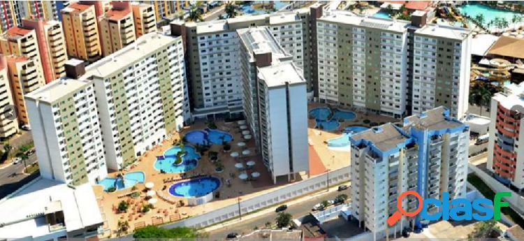 Apartamento a venda riviera park thermas flat service - apartamento a venda no bairro centro - caldas novas, go - ref.: yh28234