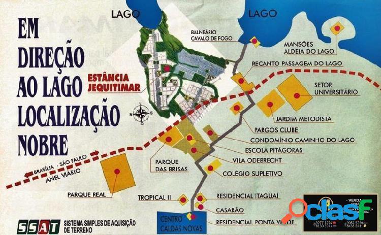 Lotes a venda estancia jequitimar - sítio a venda no bairro estancia jequitimar - caldas novas, go - ref.: yh65255