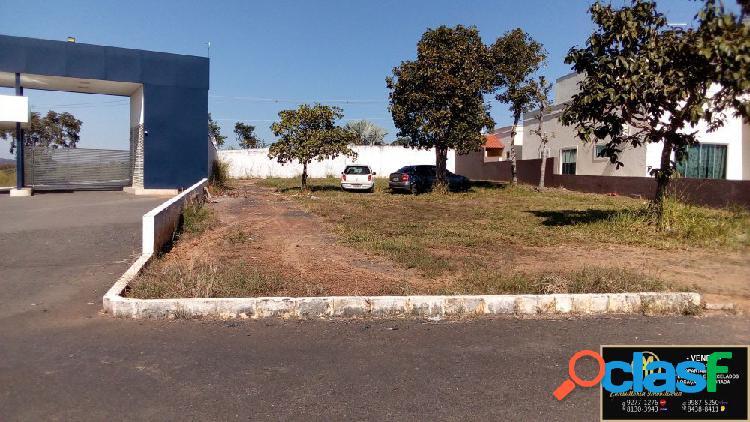 Lote esquina entrada do condomínio marinas- caldas novas - terreno em condomínio a venda no bairro condomínio marina de caldas - caldas novas, go - ref.: yh64773
