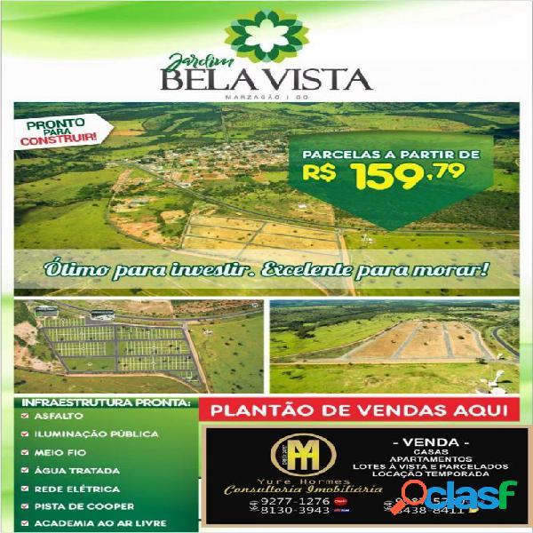 Lotes parcelados bella vista marzagão - lote a venda no bairro go 139 a 25 km de caldas novas - marzagão, go - ref.: yh12195