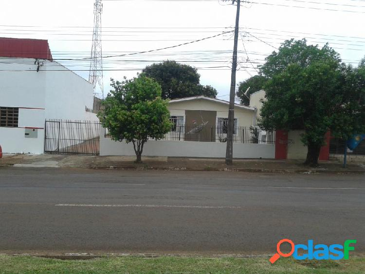 Casa na av. barão do rio brando - terreno a venda no bairro jd. pinheiros - cascavel, pr - ref.: fe82260
