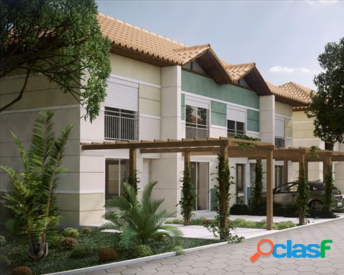 Residencial north vilage - casa em condomínio a venda no bairro vargem grande - florianopolis, sc - ref.: ep22