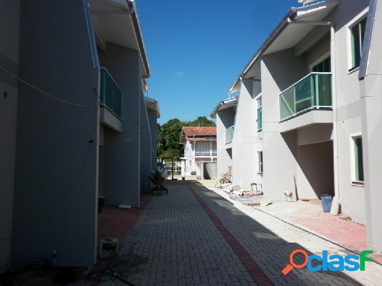 Casa estilo sobrado em condomínio - casa a venda no bairro fortaleza - blumenau, sc - ref.: 135