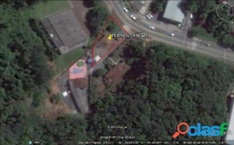 Terreno comercial/residencial - terreno a venda no bairro salto - blumenau, sc - ref.: 200