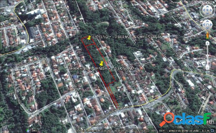 Terreno a venda no bairro velha - blumenau, sc - ref.: 299